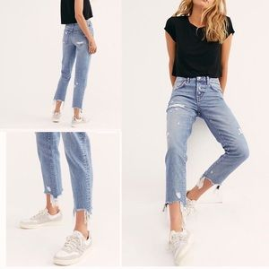 We the Free November Rain Relaxed Jeans NWT